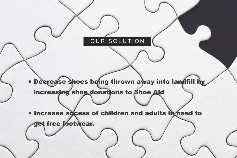 shoe aid shoe donation